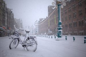 Ir en bicicleta en invierno: 5 consejos