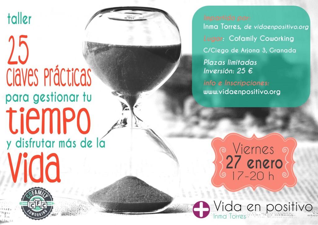 gestionar tu tiempo cofamily Granada