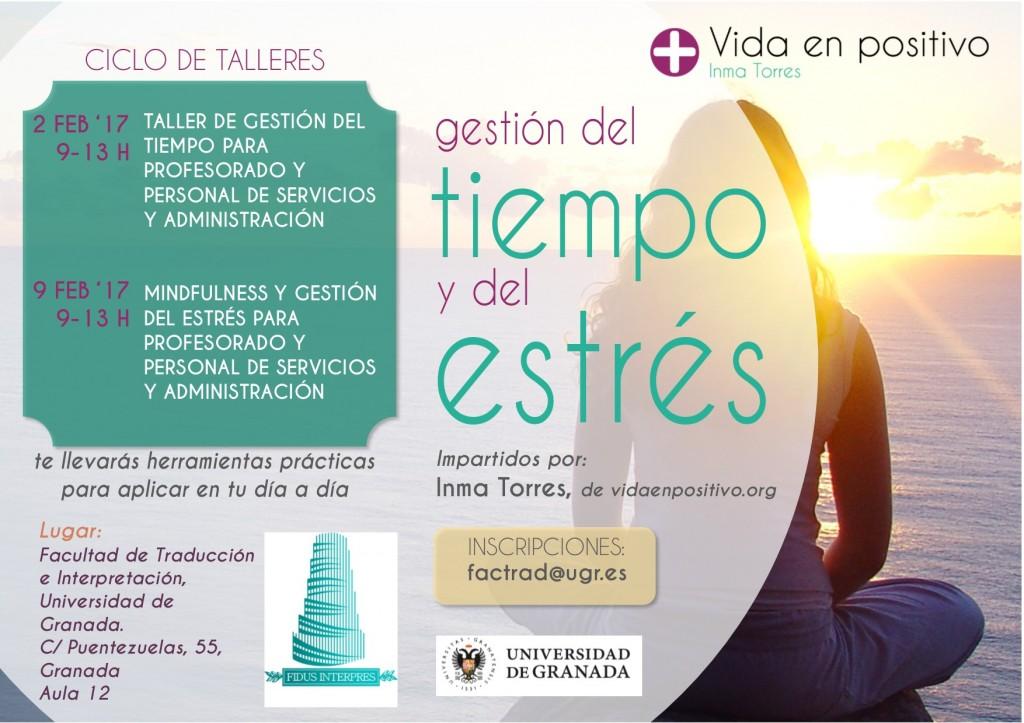 cartel talleres facultad traductores