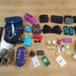 Mochila para el Camino de Santiago Minimalista: qué me llevo